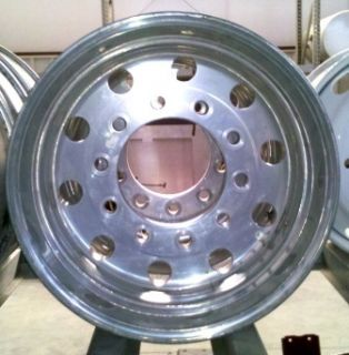 Aluminum Rim 12 25 x 22 5 Truck Trailer Hub Stud