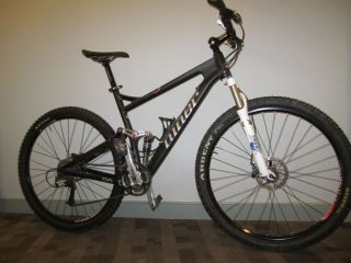 2010 Niner Jet 9 Full Suspension Mountain Bike 29 Wheels