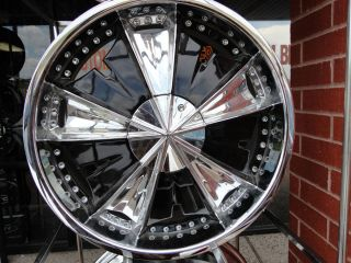 Chrome Wheels 20 inch FWD Velocity Honda Nissan Toyota Sale