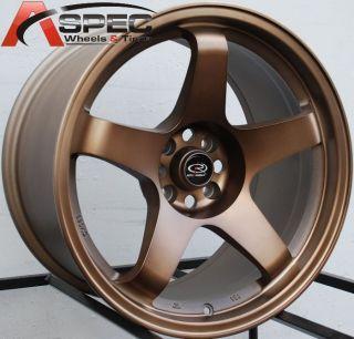18x9 5 Rota P45R Wheels 5x114 3 Rims ET30MM Sport Bronze Fits 350Z