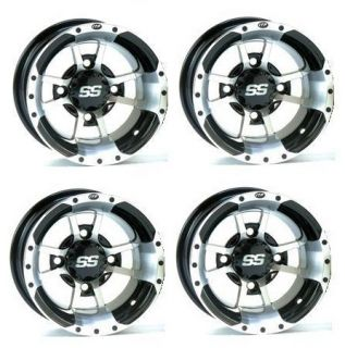 ITP SS112 ATV Wheels Yamaha 350 Banshee Raptor YFZ450