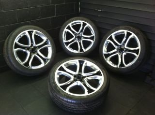 Ford Edge Polished Lincoln MKX Factory Wheels Rims Tires 3850
