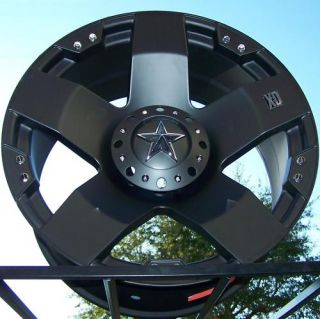 22 XD Rockstar Wheels Rim Sierra Chevy Silverado Tahoe