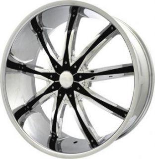 22 inch ELR20 Chrome Wheels Rims Mercury Grand Marquis