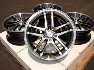 18 Effect Wheels Rims 5 Lugs Neon Scion TC XD Impreza WRX Camry