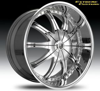 24 Inch Lexani CS 2 Land Range Rover Chrysler 300 or C AWD Wheels Rims