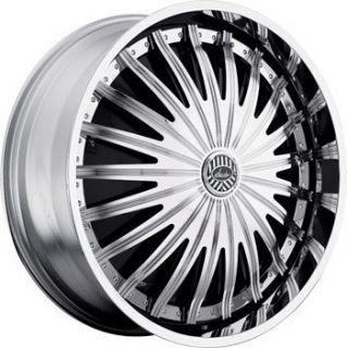 32 Davin Revolve Spinners Sham II Wheel Set 32x10 Rims 5 6 8 Lug