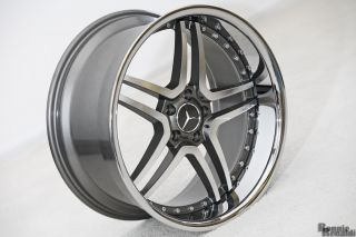 RS Wheels Rims Mercedes S550 CL550 w Continental 245 30 22 295 25 22