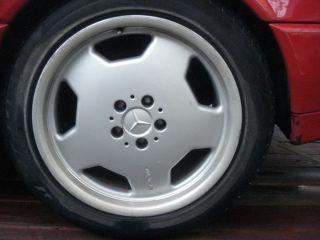 129 90 02 SL500 SL600 AMG 18 Staggered Rims Wheel Set 5 x 112