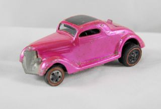Redline Hot Wheels Classic 36 Ford Coupe RARE Pink