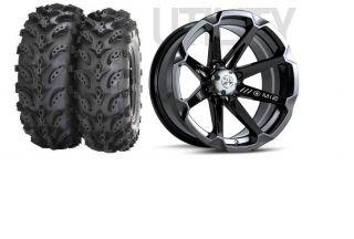 MSA Diesel 14 ATV UTV Wheels 28 Swamp Lite Tires Sportsman RZR Ranger