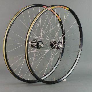 317 Disc Rims with Chris King black iso disc Hubs Wheelset 26 Tubeless