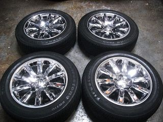 300C Chrome Factory Alloy 18 inch Wheels Tires Rims 300 C Mopar