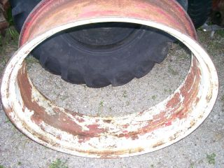 Vintage Oliver Tractor Clamp Type Rear Rim 12 x 38