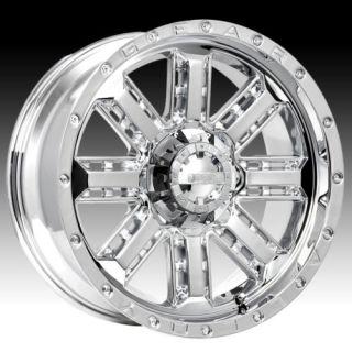 18 Wheels Rims Gear Alloy Nitro Chrome with 33x12 50x18 Nitto Mud