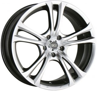 19 Ace Manta Hyper Black Wheels Rims Honda Accord Prelude Acura CL