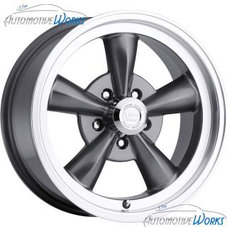 Vision Legend 5 5x127 5x5 19mm Gun Metal Wheels Rims inch 17