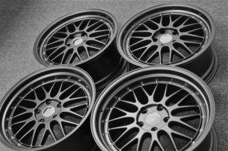 19 BMW LeMans Wheels Matte Black E39 5 Series 525 528