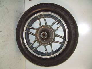 83 Honda Nighthawk 650 CB650SC 84 Rear Wheel Rim Tire