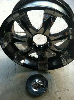 Mob 20 Torrio Rims Black Chrome 20x9 6 Lug Wheels
