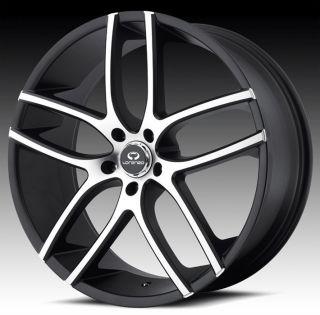 20 inch Lorenzo WL035 Black Wheels Rims 5x4 5 5x114 3 G35 G37 I35 M35