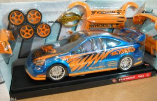 Hot Wheels Tunerz Customize Acura RSX Blue Car 1 18 HL2