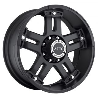 17 inch V Tec Warlord Black Wheels Rims 5x135 12 97 03 Ford F150