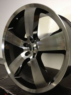 Machined Dodge Charger SRT 8 Factory OE Replica Wheels Rims 5x115