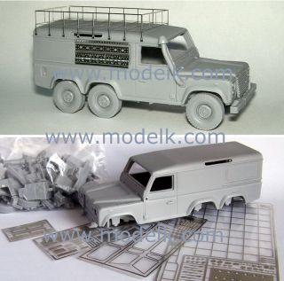 43 Kit Land Rover Defender 6x6 6 6 Wheels