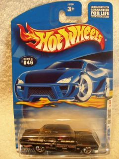 Hot Wheels 2001 First Editions Collector 46 Ford Thunderbolt