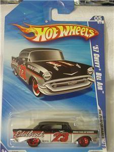 Hotwheels 57 Chevy Bel Air Edelbrock HW Performance