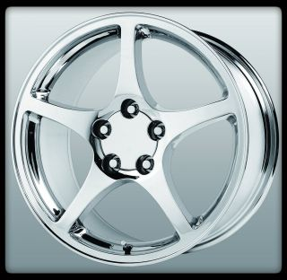 Replicas V1116 2000 C5 Chrome Chevrolet Corvette Wheels Rims