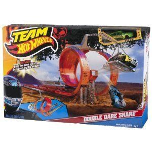 Hot Wheels Team Hot Wheels Double Dare Snare Track Set New Tracks