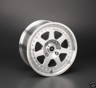 15 Rota J Mag Polish Wheels Rims 15x7 40 4x100 Civic