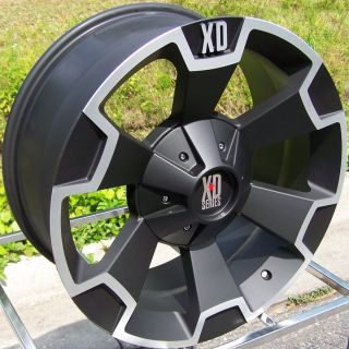 20 BLACK XD THUMP WHEELS RIM 2011 CHEVY SILVERADO GMC SIERRA 2500 3500