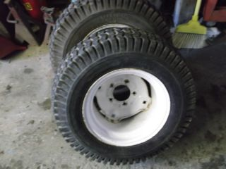 Wheel Horse 23 Rear Tires and Rims