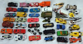 to Now Matchbox Toy Cars Hot Wheels and Others Lot of 44