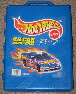 Hot Wheels Mattel 48 Car Carry Case 20020 Made N USA