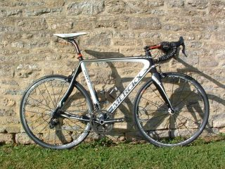 Merckx EMX 5 Carbon Road Bike Campagnolo Record 11 Fulcrum Wheels 58cm