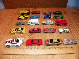 Lot of 20 Die Cast Cars Trucks Hot Wheels Matchbox Marx Roadchamps Etc