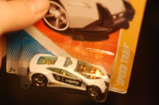 2011 Hot Wheels Speed Trap Police Car of The Future