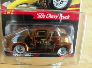 Hot Wheels RLC Real Riders 50s Chevy Truck