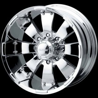 HULK 755 CHROME SUBURBAN SAVANA SILVERADO AVALANCHE RAM H2 WHEELS RIMS