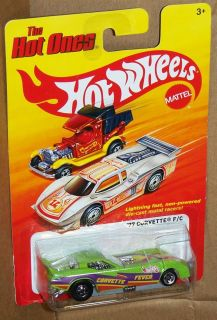 Hot Wheels The Hot One 1977 Corvette Funny Car Corvette Fever