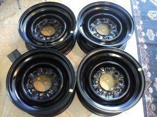 Ford E250 E350 Econoline Van Factory 16 Steel Rims Wheels Set