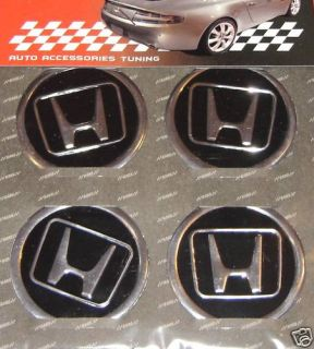 For Honda Wheel Rim Hub Center Decal Sticker Badge