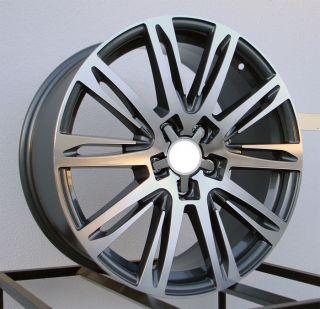18 Wheels Rims Fit Audi A4 1 8T 2 0T 3 0 3 2 B5 B6 B7 B8