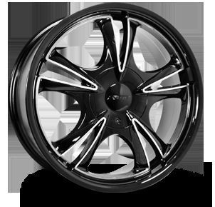 17 New Forte F58 Rims Wheels Fits Most 5 Lug Car Patterns
