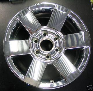 2007 Armada Titan 18x8 Chrome Clad Wheel Rim 18 6 Spoke 62439