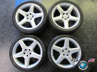 Mercedes MBZ CLS55 CLS63 CLS SL Factory 19 AMG Wheels Tires Rims OEM